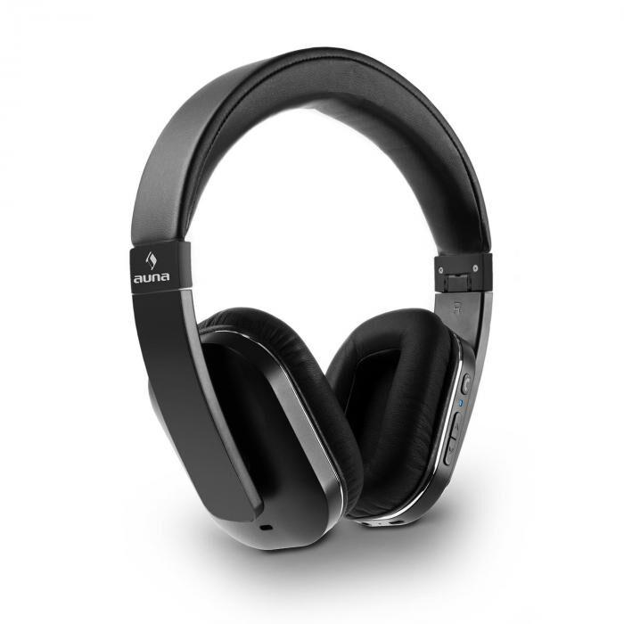 Auna Elegance ANC Casque Bluetooth 4.0 NFC kit main libres réducteur bruit - noi