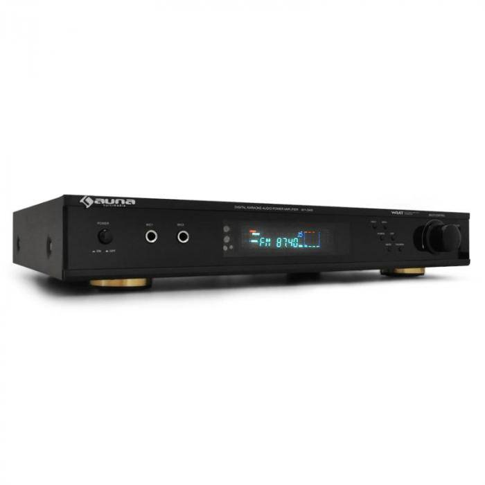 Auna ampli 5.1 ac3 home cinema hifi USB SD radio FM dolby AV
