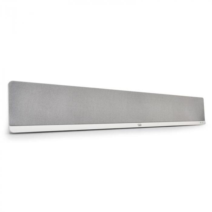 Trevi 2.1 SB-8300W Barre de son home cinema système 2.1 fonction 3D -blanche