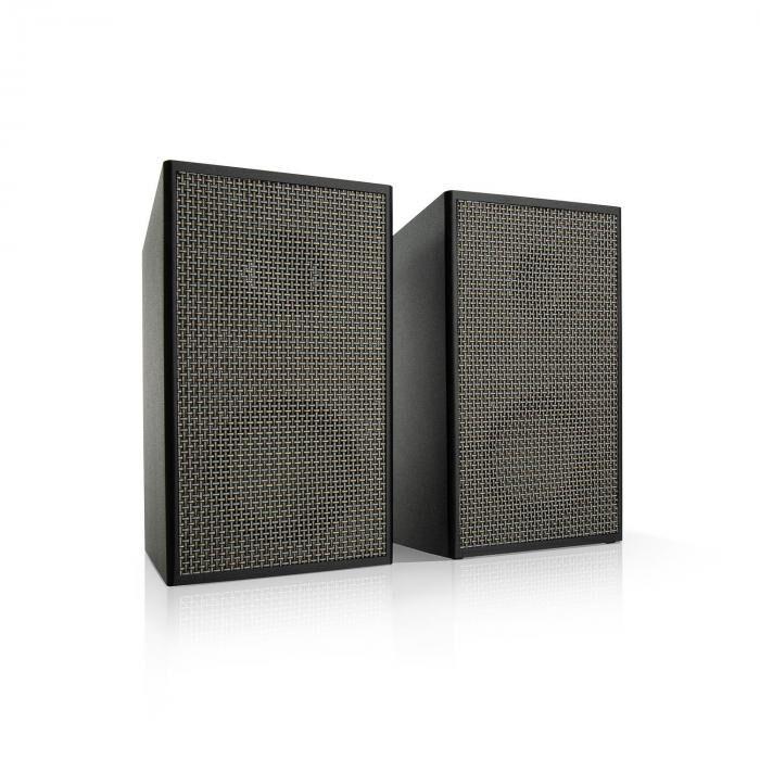 Auna Pure Precision Box kit d'enceintes actives, 100 W max., 2 voies, noires