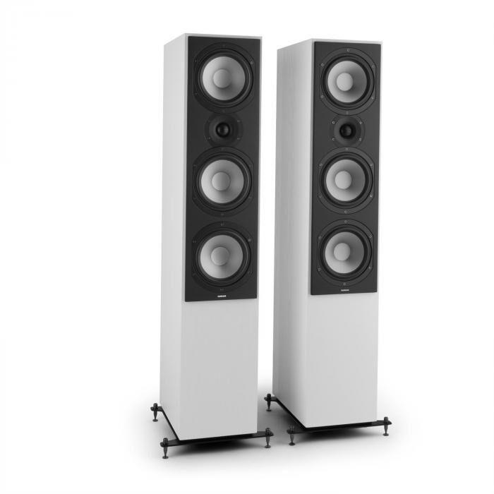 Numan Reference 801 – Paire enceintes colonnes 3 voies - blanc