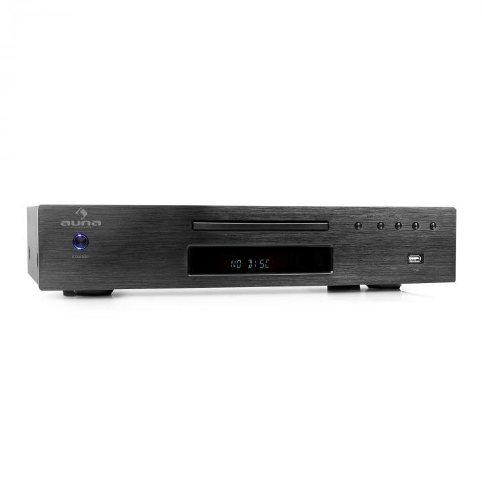 Auna AV2-CD509 Lecteur MP3 CD USB & récepteur radio - noir