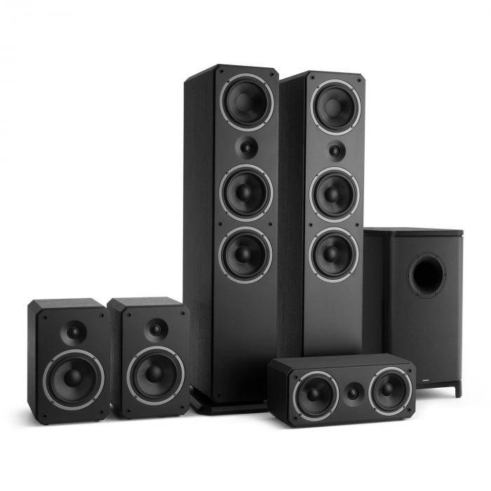 Numan Octavox 751 MKII – Système5.1 home cinéma 5 enceintes hifi - noir