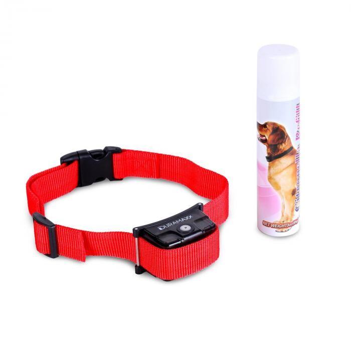 OneConcept Duramaxx Balu Collier de dressage pour chien spray inclus