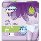 Tena Silhouette Large Normal Blanc