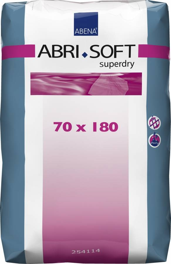 Abena-Frantex Abri Soft 180 x 70 cm - Alèses jetables