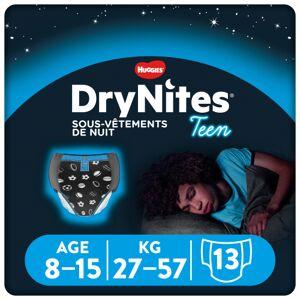 DryNites Culottes de nuit garçons 8 - 15 ans - Publicité