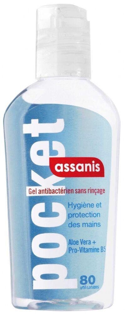 Assanis Gel hydroalcoolique antibactérien 80 ml