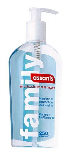 Assanis Gel hydroalcoolique antibactérien 250 ml