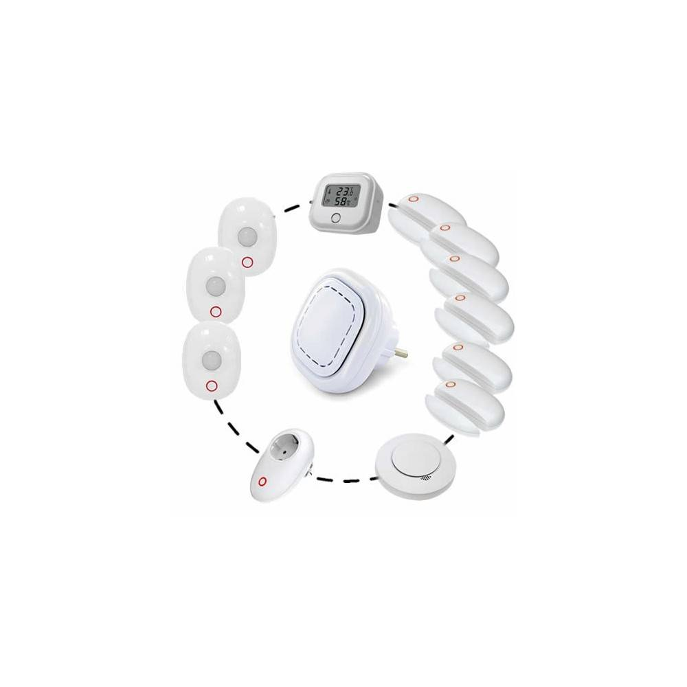 LIFEBOX Alarme sans fil connectée lifebox smart