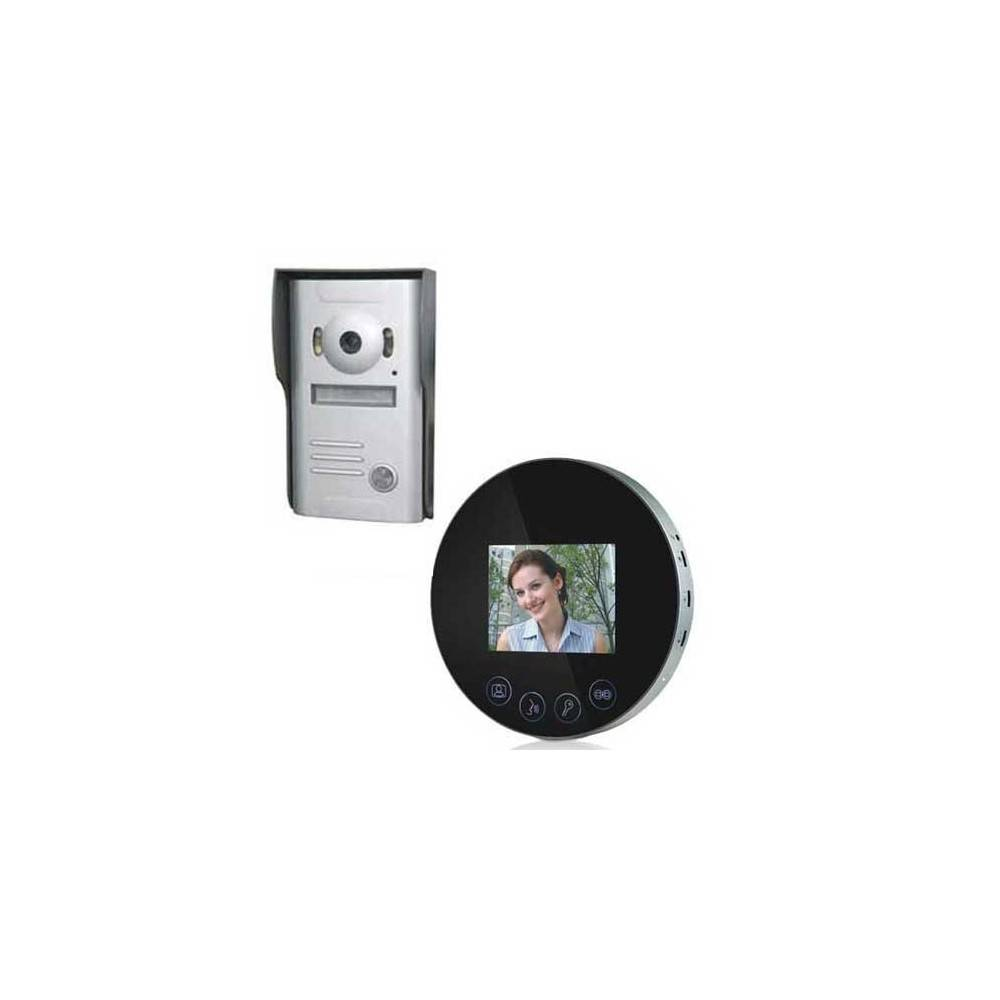 SecuriteGoodDeal Interphone video miroir rond