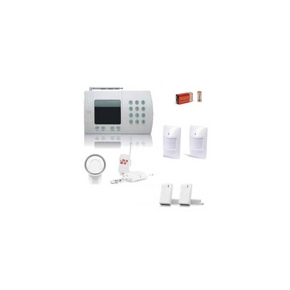 SecuriteGoodDeal Kit alarme maison de 6 zones,  medium box