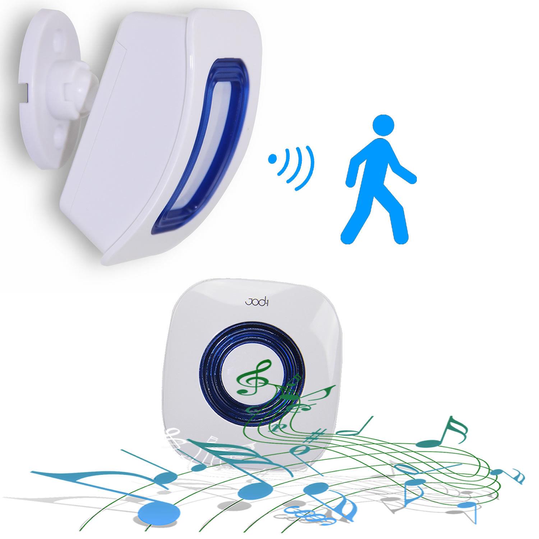 SecuriteGoodDeal Carillon, sonnette sans fil avec détecteur de mouvement