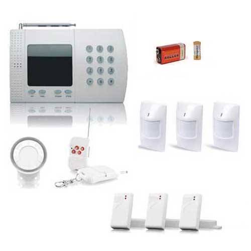 SecuriteGoodDeal kit alarme sans fil de 6 Zones, Large BOX