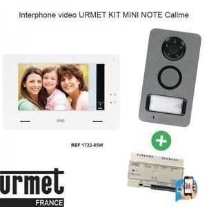URMET Interphone video URMET KIT MINI NOTE Callme - 1722/85W - Publicité