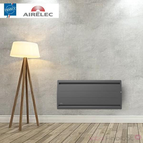 AIRELEC Radiateur electrique Fonte AIRELEC - AIREVO Smart ECOcontrol 750W Bas Anthracite - A693472