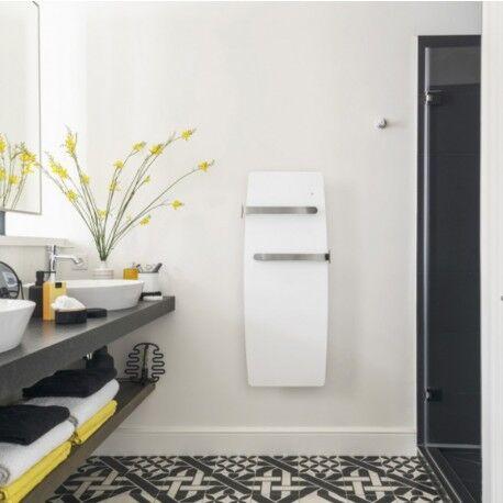 NOIROT Sèche-serviettes électrique soufflant chaleur douce ETIC Bains 1500W (700W+800W) - NOIROT NEK2455SEEC