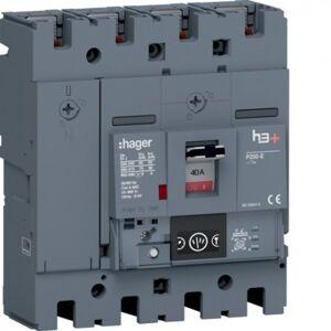 HAGER Disj.h3+P250 Ener 4x40A 70kA - APPAREILLAGE DE TETE HAGER HET041NR - Publicité