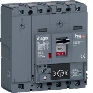 HAGER Disj.h3+P160 Ener 4x160A 50kA - APPAREILLAGE DE TETE HAGER HMS161NC - Publicité