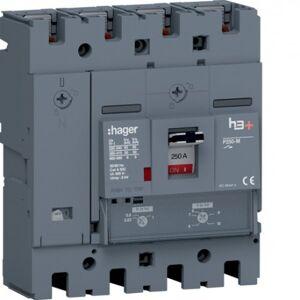 HAGER Disj.h3+P250 TM 4x250A 50kA - APPAREILLAGE DE TETE HAGER HMT251DR - Publicité