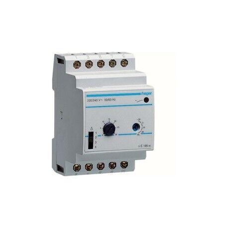HAGER Thermostat multigamme - GEST CHAUF EAU CH HAGER EK186