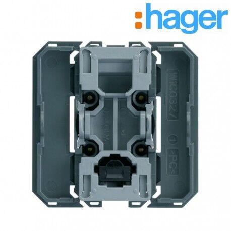 HAGER Interrupteur va&vient; InterBP avec neutre 2 modules GALLERY - HAGER WXF003