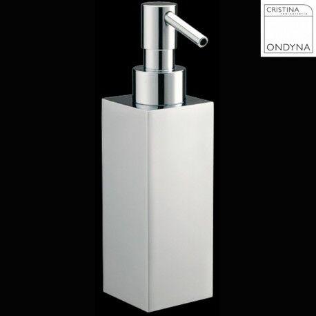 CRISTINA ONDYNA Distributeur de savon liquide QUATTRO - CRISTINA ONDYNA QU72751