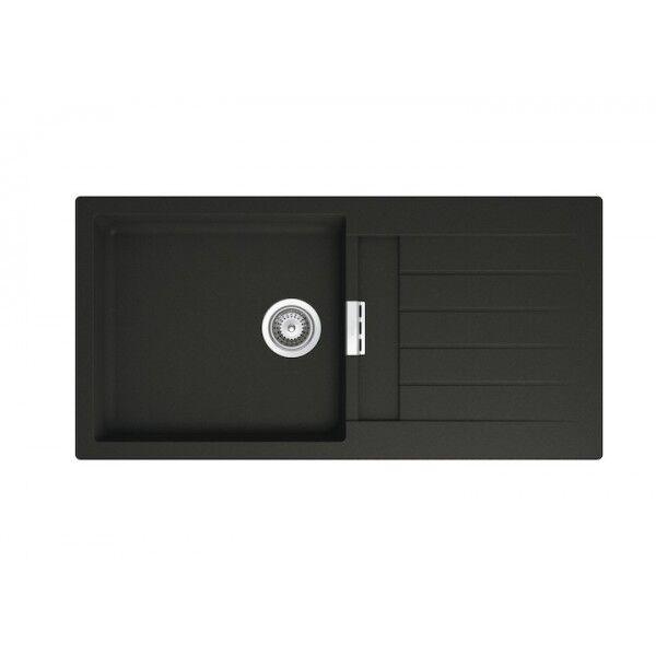 ROCA Oslo Evier Reversible 1 Cuve 1000 Noir - A880130940