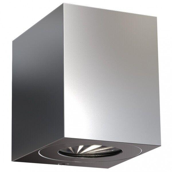 NORDLUX CANTO KUBI 2 applique murale Acier inoxydable Inox LED integrée 2700K - Nordlux 49711034