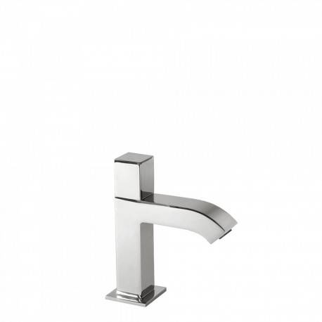 TRES Robinet lavabo 1 seule eau ou prémélangeur Chromé CUADRO-TRES - TRES 107503