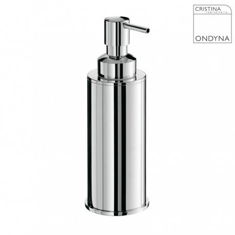 CRISTINA ONDYNA Porte savon liquide Chrome - CRISTINA ONDYNA - AM12751