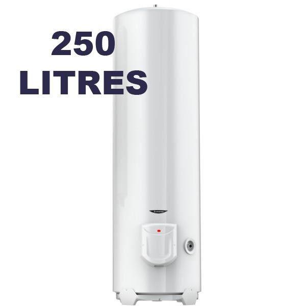 ARISTON Chauffe-eau électrique vertical au sol 250 litres - INITIO - ARISTON 3000596