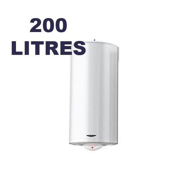 ARISTON Chauffe-eau électrique vertical au sol 200 litres - SAGEO - ARISTON 3000591