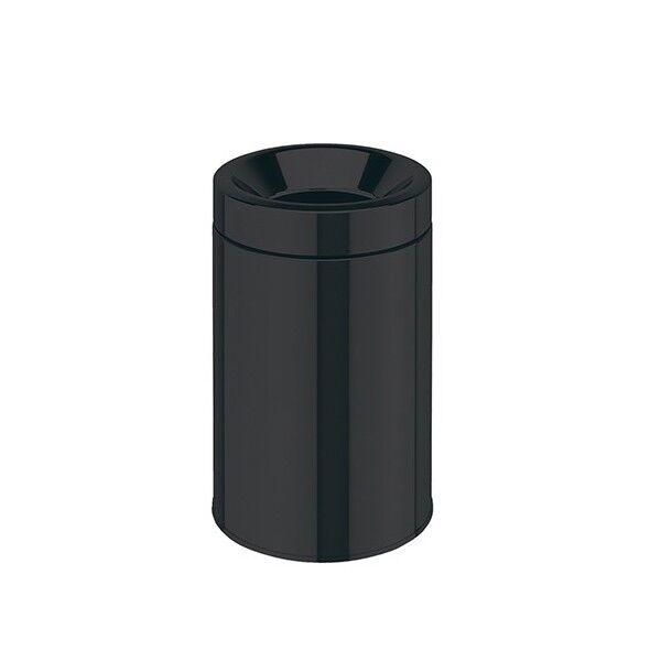 CRISTINA ONDYNA Poubelle Pour Papier Avec Couvercle Anti-Flamme Black Mat 5L - CRISTINA ONDYNA LB53513