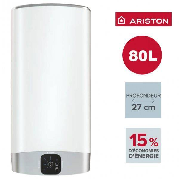 ARISTON Chauffe-eau ARISTON Velis EVO 80L - vertical/horizontal electrique 3626155