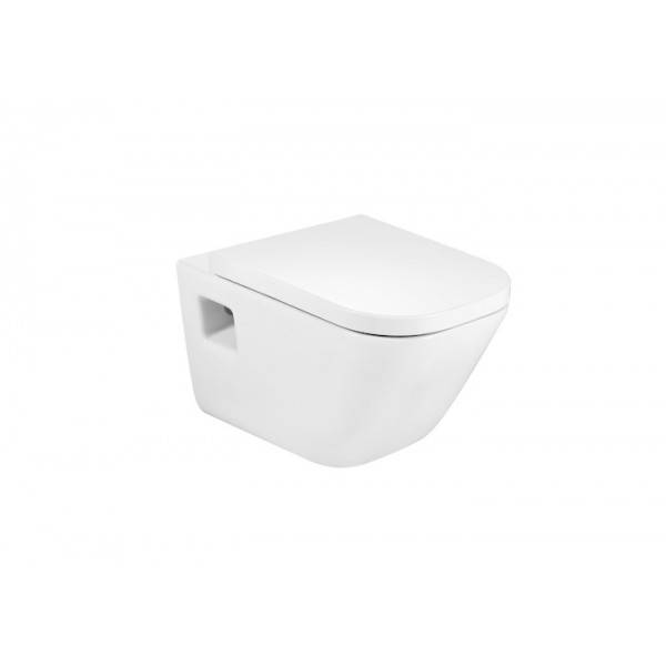 ROCA Cuvette de WC suspendue en porcelaine Blanc THE GAP - A346477000