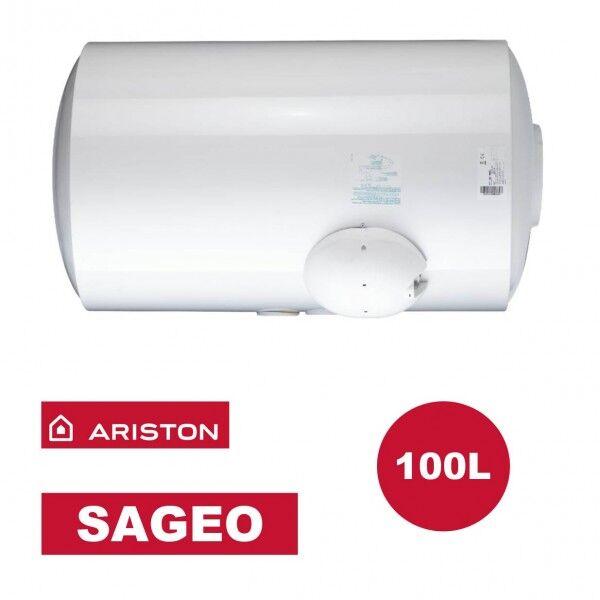 ARISTON Chauffe-eau électrique horizontal bas Sagéo 100 l - Ø 560 mm - ARISTON 3000355