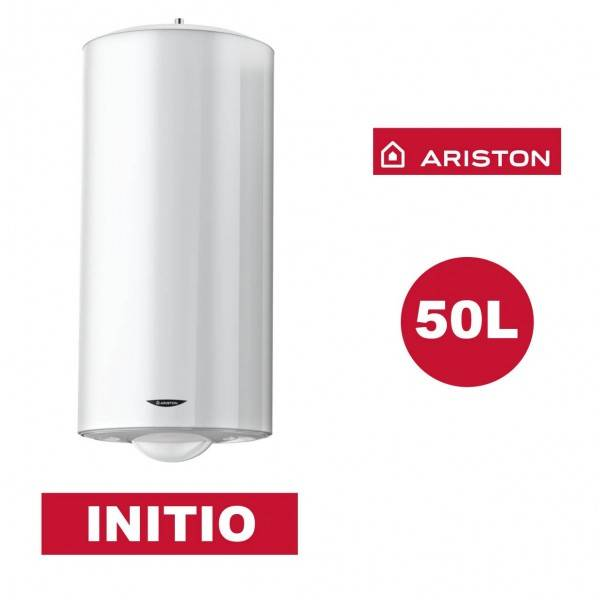 ARISTON Chauffe-eau électrique vertical mural Initio 50 l - Ø 470 mm - ARISTON 3200832