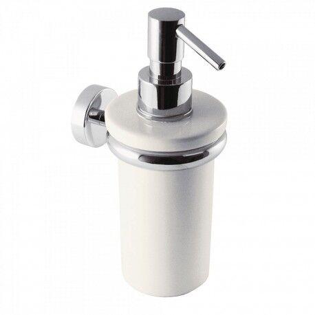 TRES Distributeur de savon liquide en céramique, mural - TRES 16163618