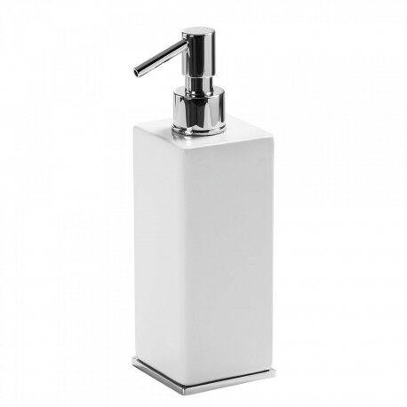 TRES Distributeur de savon liquide en céramique, de plan de toilette - TRES 20263608