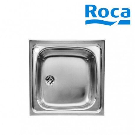 ROCA Évier de cuisine 1 bac en Inox à poser sur meuble - ROCA A870410603