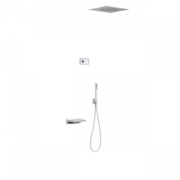 TRES Kit de baignoire thermostatique électronique et encastré SHOWER TECHNOLOGY · Con - TRES 09286315BM