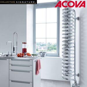 ACOVA Sèche-serviette ACOVA Spirale eau chaude chromé 426W SPILO-120-020 - Publicité