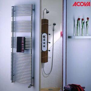 ACOVA Sèche-serviette ACOVA - KÉVA Spa Chromé chauffage central 532W - CKO-135-050 - Publicité