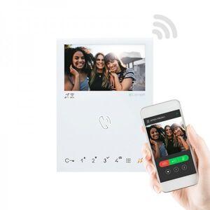 COMELIT Kit portier Vidéo Quadra et Mini WIFI 2 fils - Comelit 8451V/BM - Publicité