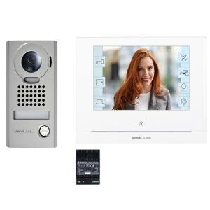 AIPHONE Kit portier Vidéo AIPHONE - Platine saillie - module Wi-Fi intégré - JOS1VW 130413 - Publicité