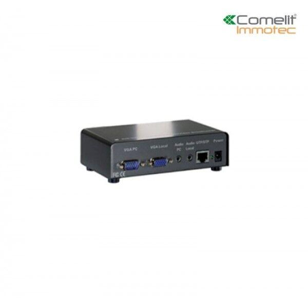 COMELIT Emetteur audio vidéo CAT5 VGA - Comelit UTPTX1LR