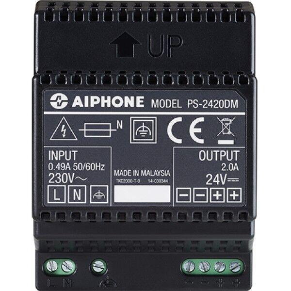 AIPHONE ALIM.MOD.24VCC 2A Accessoire portier collectif PS-2420DM - Aiphone 110913