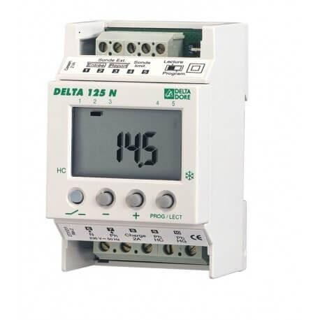DELTA DORE Régulateur modulaire sur tableau électrique pour plancher à accumulation de chaleur DELTA 125 N