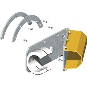 CAME Etrier pour lisse dégondable avec chute de la lisse à l'ouverture totale CAME G028011 - Publicité